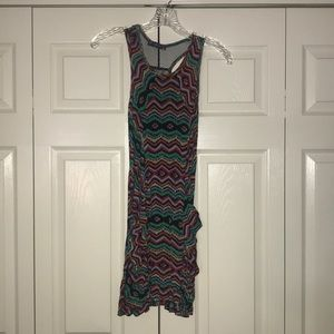 Fun patterned dress with pockets!